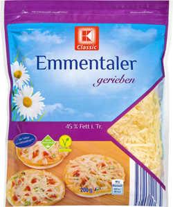 K-CLASSIC  geriebener Käse