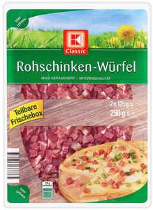 K-CLASSIC  Rohschinken-Würfel
