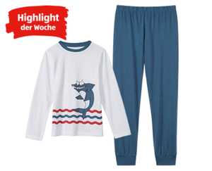 alive®  Kinder-Schlafanzug, Single Jersey