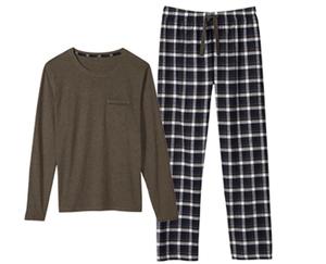 watson´s Herren-Pyjama, Flanell