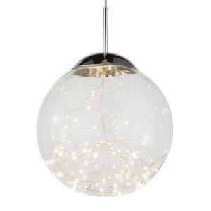 home24 LED-Pendelleuchte Manam