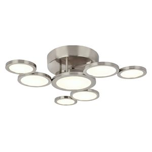 home24 LED-Deckenleuchte Corsus