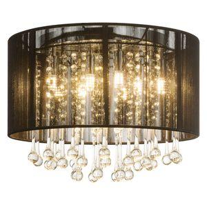 home24 LED-Deckenleuchte Bagana