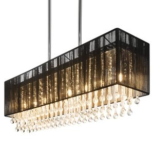 home24 LED-Pendelleuchte Bagana II
