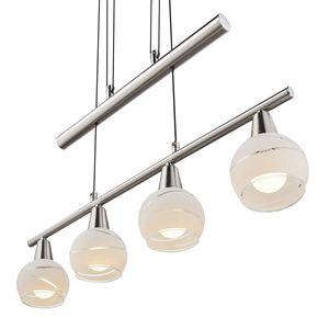 home24 LED-Pendelleuchte Elliott