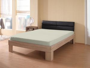 Dreamtex Jersey Spannbetttuch 140-160x200 cm - silber