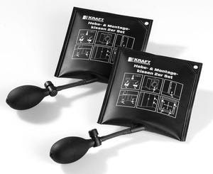 Kraft Werkzeuge Hebe- & Montagekissen 2er Set