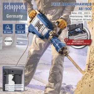 Scheppach Profi Abbruchhammer AB1900