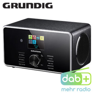 DAB+-WLAN-Internet- UKW-Radio DTR 5000 mit Bluetooth® • FM-Radio, 2 Weckzeiten, Einschlaf-Automatik • USB-/Aux-Anschluss, Spotify Connect • Farbdisplay, 2 x 7 Watt RMS • inkl. Fernbedienung