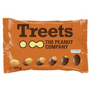 Treets Peanuts oder Peanuts Butter Buttons jeder 150/185-g-Beutel