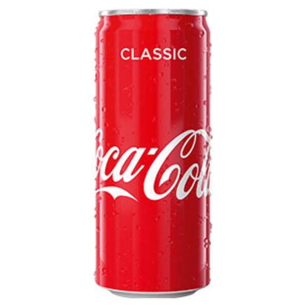Coca-Cola*, Fanta oder Sprite (*koffeinhaltig), versch. Sorten, jede 0,33-Liter-Dose