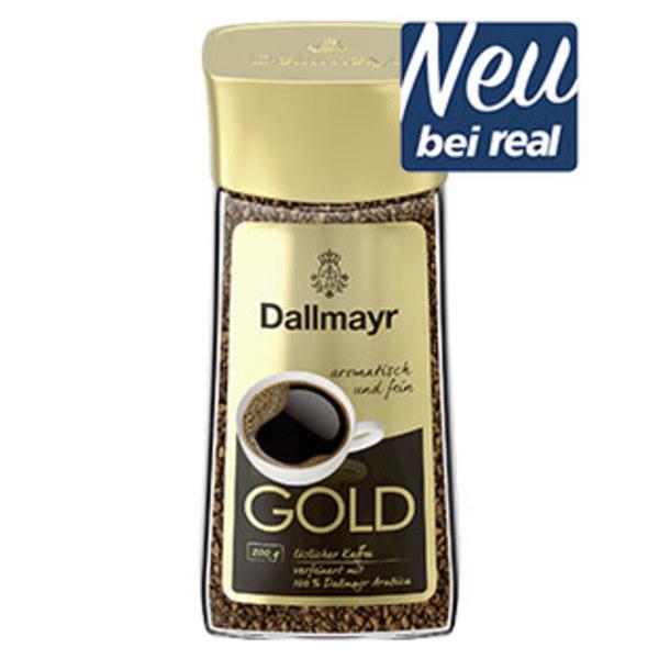 Dallmayr Gold löslicher Kaffee jedes 200-g-Glas