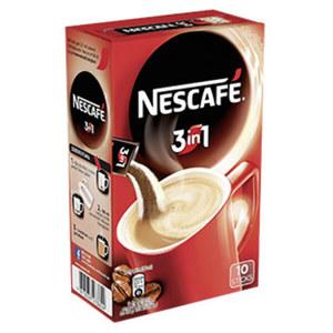 Nescafé lösliche Kaffee 3in1 Stix oder 2in1 Stix jede 10er = 100/175-g-Packung