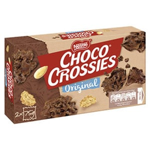 Nestle Choclait Chips oder Choco Crossies versch. Sorten, jede 115/150-g-Packung