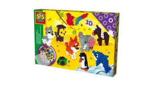 SES Creative - Bügelperlen 3 D Tiere
