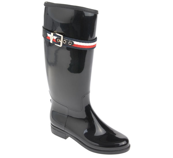 Tommy Hilfiger Gummistiefel - CORPORATE BELT LONG RAIN BOOT