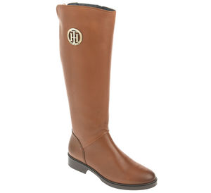 Tommy Hilfiger Stiefel - BASIC TH RIDING BOOT LEATHER