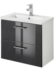 Waschtisch »Trento«, Waschtisch SlimLine, Breite 60 cm, Tiefe 36 cm, (2-tlg.)