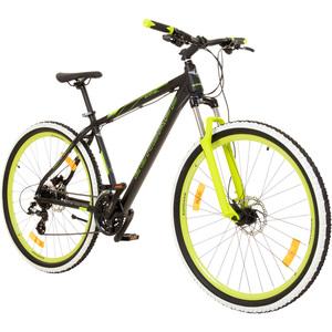 Zündapp PRIMAL oder FLYTE 29 Zoll MTB Mountainbike Scheibenbremsen Shimano , Farbe:schwarz/grün