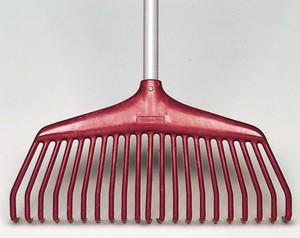 Fiskars Nylon-Laubbesen mit Stiel 40 cm Arbeitsbreite, 805726