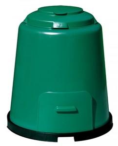 Komposter Schnellkomposter 280 Liter mit Boden grün GARANTIA 600012