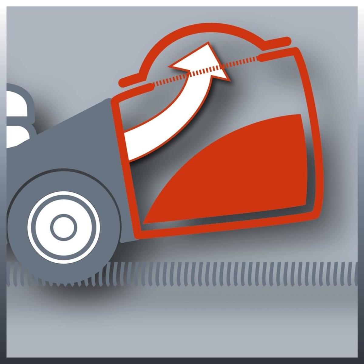 Bild 3 von Einhell GC-PM 46/3 S 34.007.27 Handgeführter Rasenmäher, 4-Takt Benzinmotor, 46cm Schnittbreite, Radantrieb, Grasfang hinten, Schwarz/Rot