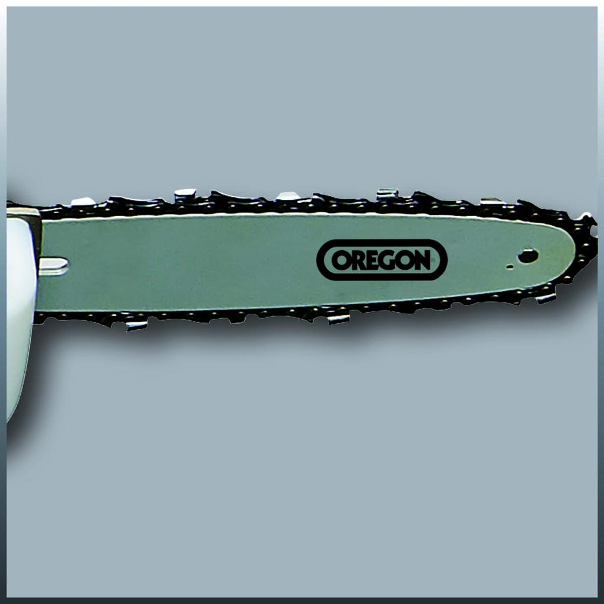 Bild 4 von Einhell Elektro Stab-Heckenschere / -Säge GC-HC 9024 T, Leistung 900 Watt, Schwertlänge Kettensäge 20 cm, Schwertlänge Heckenschere 480 mm, 4501280