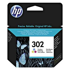 HP Tintenpatrone F6U65AE#301 302 3-farbig