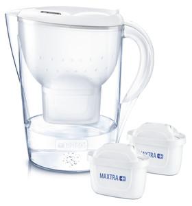 Brita Wasserfilter Marella XL Starterpack - inkl. 2 MAXTRA+ - weiß