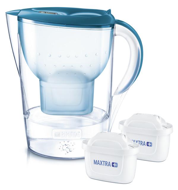 Brita Wasserfilter Marella Xl Starterpack Inkl 2 Maxtra Petrol