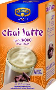 Krüger You Chai Latte Typ Schoko Sweet India extra cremig | 10 Portionen