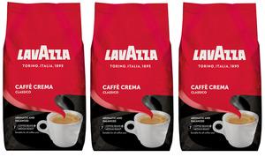 Lavazza Caffè Crema Classico | ganze Bohne | 3x1000g