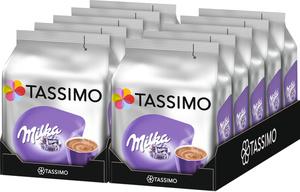 Tassimo Milka Kakaospezialität | 10 Packungen á 8 T Discs