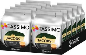 Tassimo Jacobs  Espresso Classico | 10 Packungen á 16 T Discs
