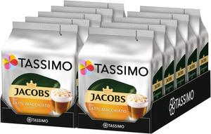 Tassimo Jacobs Latte Macchiato Caramel   10 Packungen á 8 T Discs