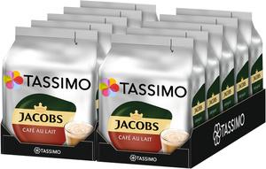 Tassimo Jacobs Café Au Lait   10 Packungen á 16 T Discs