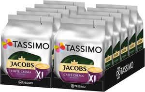 Tassimo Jacobs Caffè Crema Intenso XL | 10 Packungen á 16 T Discs