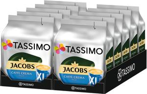 Tassimo Jacobs Caffè Crema mild XL   10 Packungen á 16 T Discs