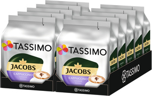Tassimo Jacobs Cappuccino Choco   10 Packungen   á 8 T Discs