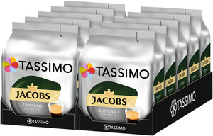 Tassimo Jacobs Espresso Ristretto   10 Packungen á 16 T Discs