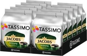 Tassimo Jacobs Krönung mit dem Verwöhnaroma   10 Packungen á 16 T Discs