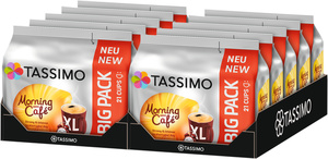Tassimo Morning Café Big Pack | 10 Packungen á 21 XL Kapseln