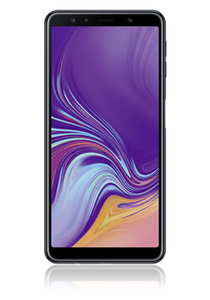 Samsung Galaxy A7 (2018) 64GB, Black, EU-Ware