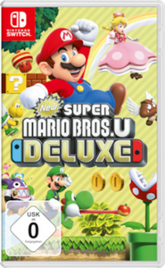 Nintendo Switch- New Super Mario Bros U Deluxe