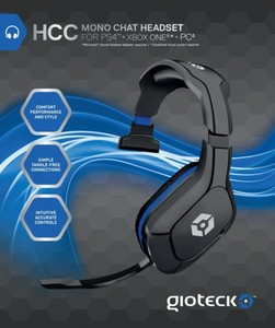 Gioteck XH-100 - Wired Stereo Headset PC / PS4 / Xbox One / Mac