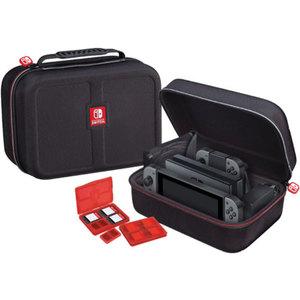BigBen Nintendo Switch Deluxe Case NNS 60 (Transporttasche für die komplette Konsole,  inkl. 2x 4-Spiele-Game-Boxen, 2x 2-Micro-SD-Card-Boxen)