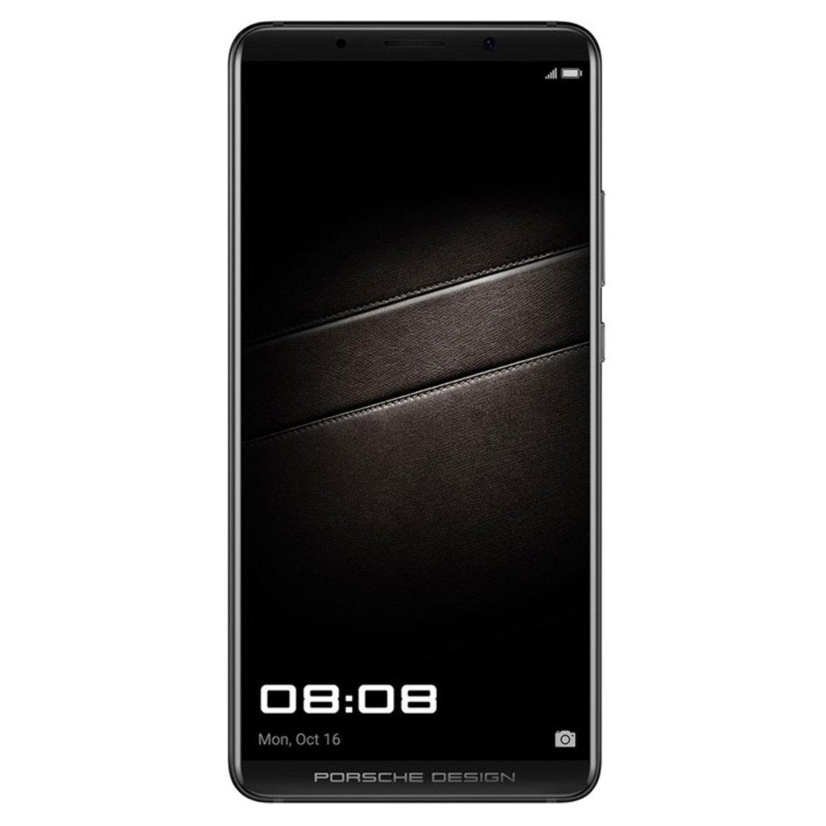 Bild 1 von Huawei Mate 10 Smartphone (5,9 Zoll) 256GB 6GB RAM Porsche Design, Farbe:schwarz