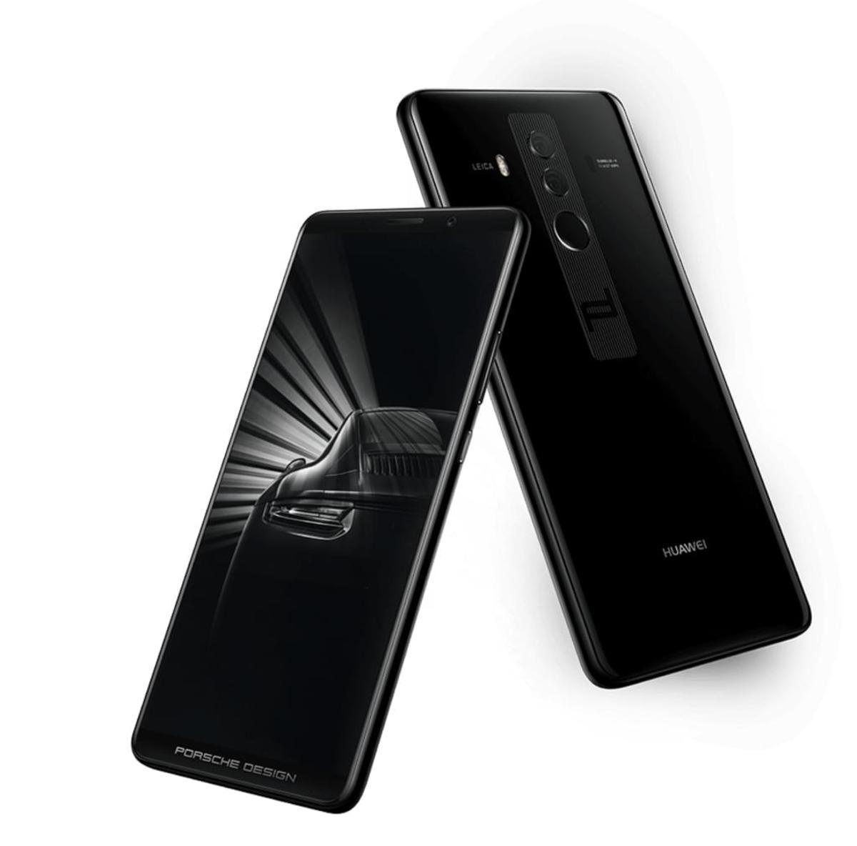 Bild 4 von Huawei Mate 10 Smartphone (5,9 Zoll) 256GB 6GB RAM Porsche Design, Farbe:schwarz