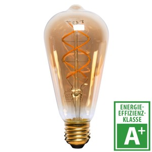 LED Filament Lampe 5 Watt in Birnenform mit E27 Sockel