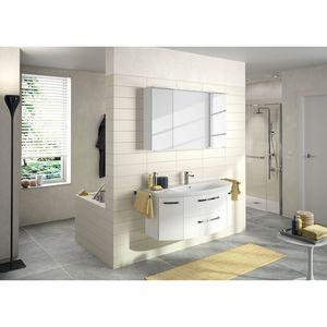 home24 Badezimmerset Fokus 4010 VI (2-teilig)